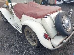 1953 MG TD SOLD by Auction