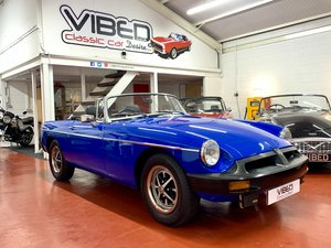 MGB Roadster 1976 / Fully Restored / Documented History For Sale