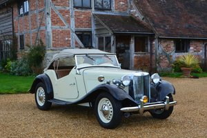 1952 MG TD MkII For Sale by Auction