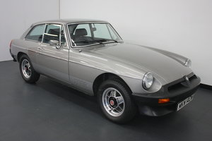 1980 MGB GT LE (LIMITED EDITION) 1 of 580 CARS PRODUCED