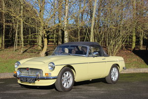 1968 MGB 1.8 'ZETEC' ROADSTER with 5 SPEED.