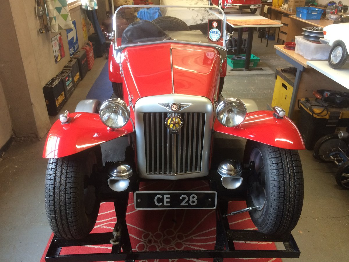 MG 2/3rd SCALE MODEL, PETROL ENGINE AUTO SUPERB  For Sale (picture 6 of 6)