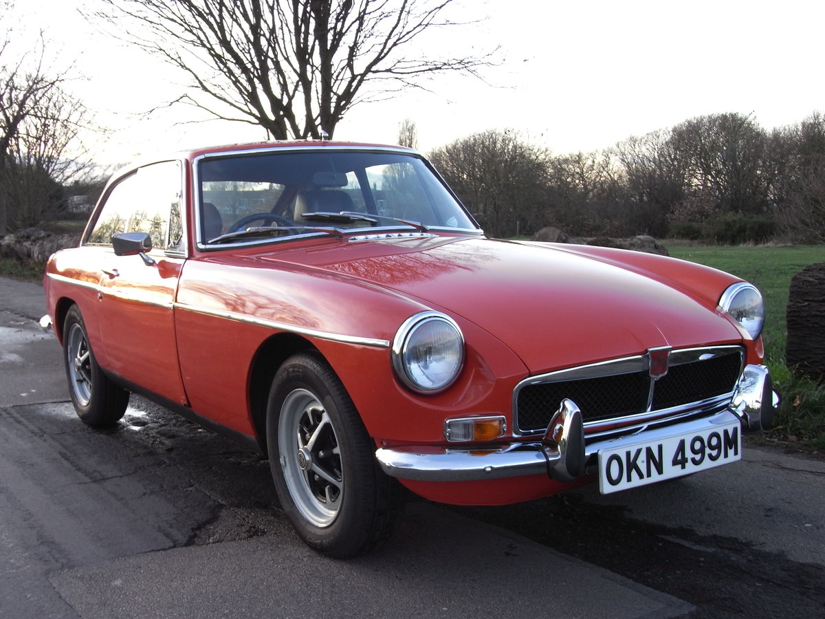 1973 MGB GT Blaze Red Overdrive SOLD (picture 6 of 6)