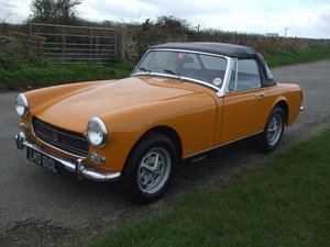 1972 MG Midget MkIII For Sale by Auction