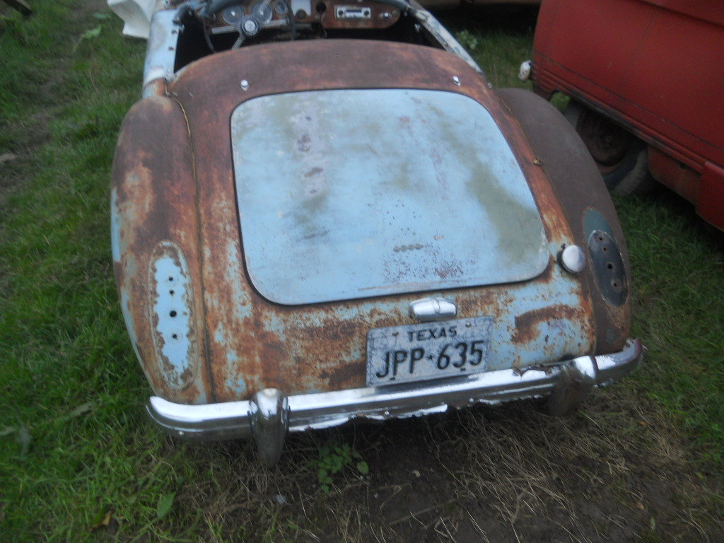 1960 MGA Roadster 1600 Rolling Parts car For Restoration US Impor For Sale (picture 2 of 6)