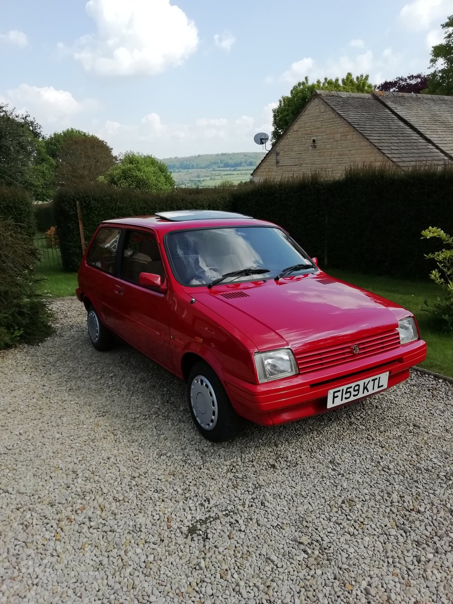 1989 MG Metro Mk 2  SOLD (picture 6 of 6)