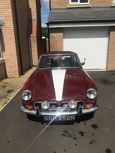1971 MG BGT 1.8L Low Mileage For Sale