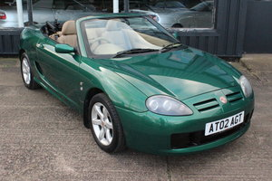2002 TROPHY CARS-MGF MGTF,TAN INTERIOR,1 OWNER,NEW HEAGASKET,BELT For Sale