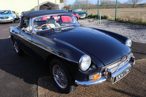 1969 MGB HERITAGE Shell, built by CCHL,Midnight blue For Sale