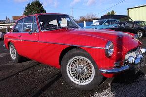 1969 MGC GT, Bare Shell rebuild, tartan red For Sale