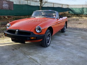 MGB Roadster-1980-One of the last produced SOLD
