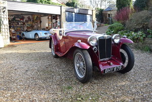 1935 MG PA For Sale by Auction