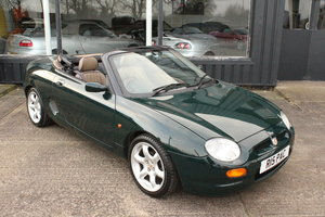 1998 MGTF MGF ABINGDON,50000 MLS,NEW HEADGASKET+BELT+PUMP,1YR WTY For Sale