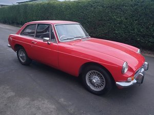 1973 MG BGT SOLD by Auction