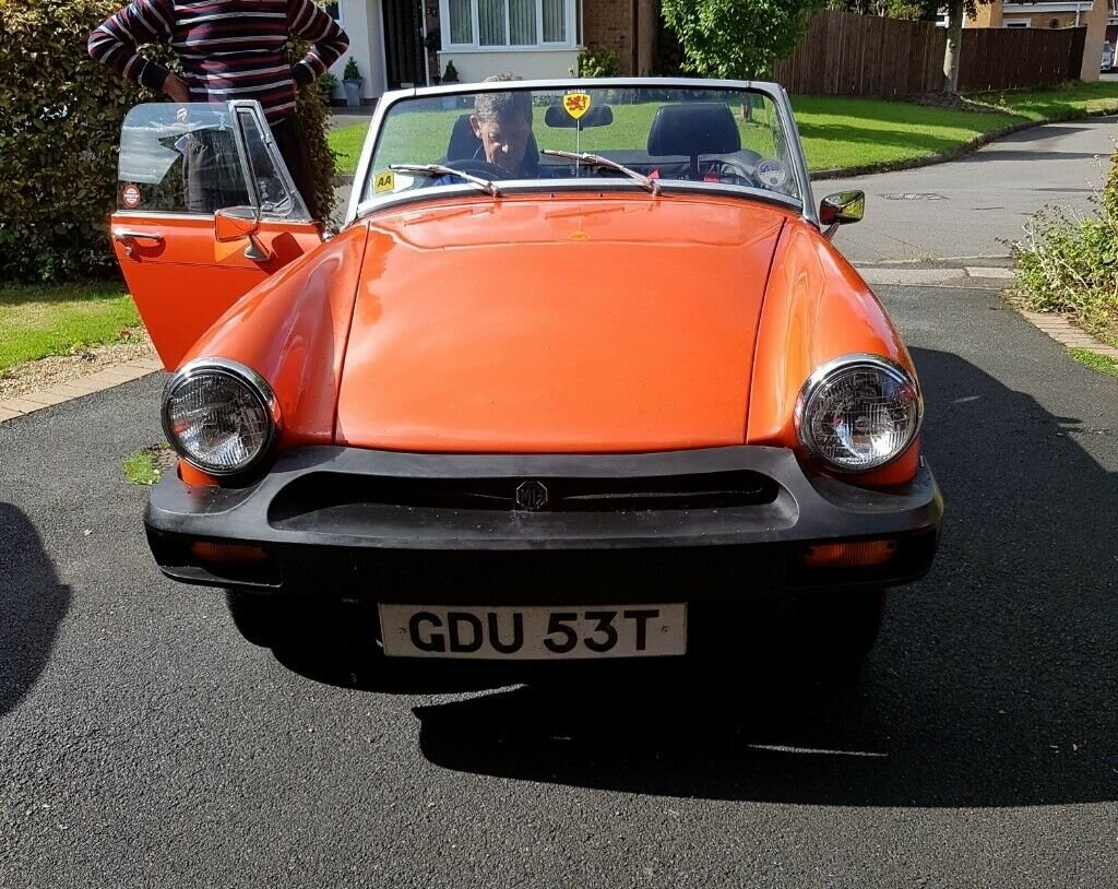 1979 MG Midget Classic, Low Mileage, FSH, 12 months MOT SOLD (picture 2 of 5)
