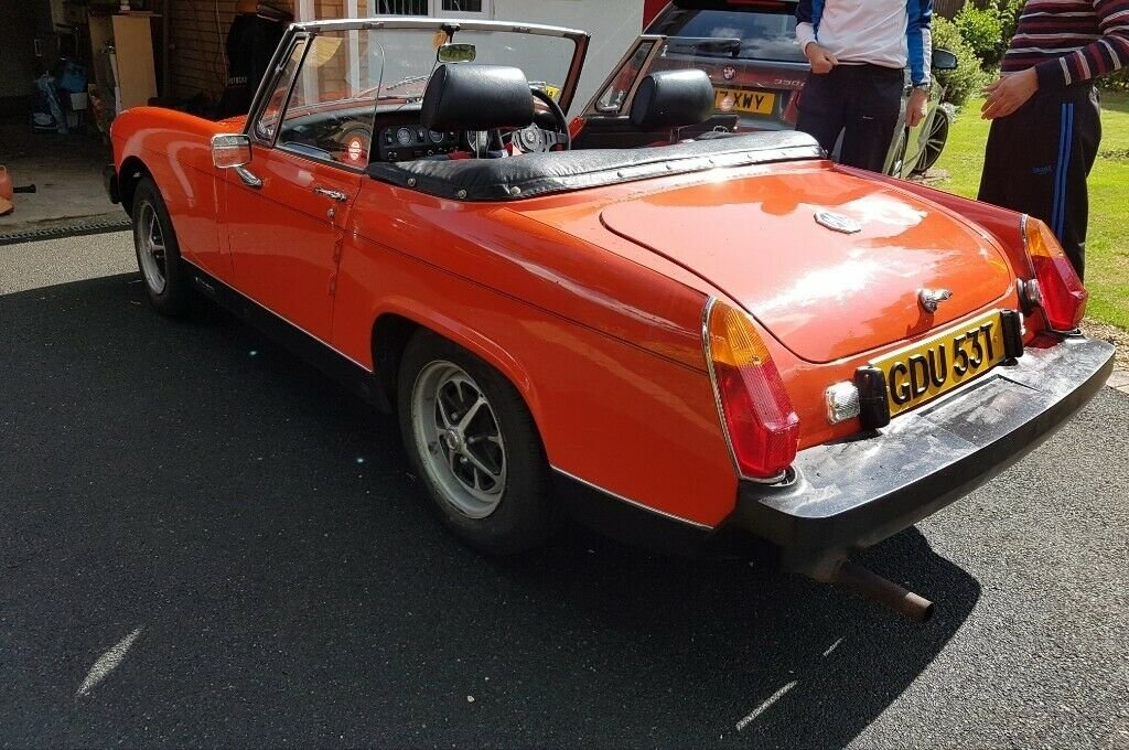 1979 MG Midget Classic, Low Mileage, FSH, 12 months MOT SOLD (picture 3 of 5)
