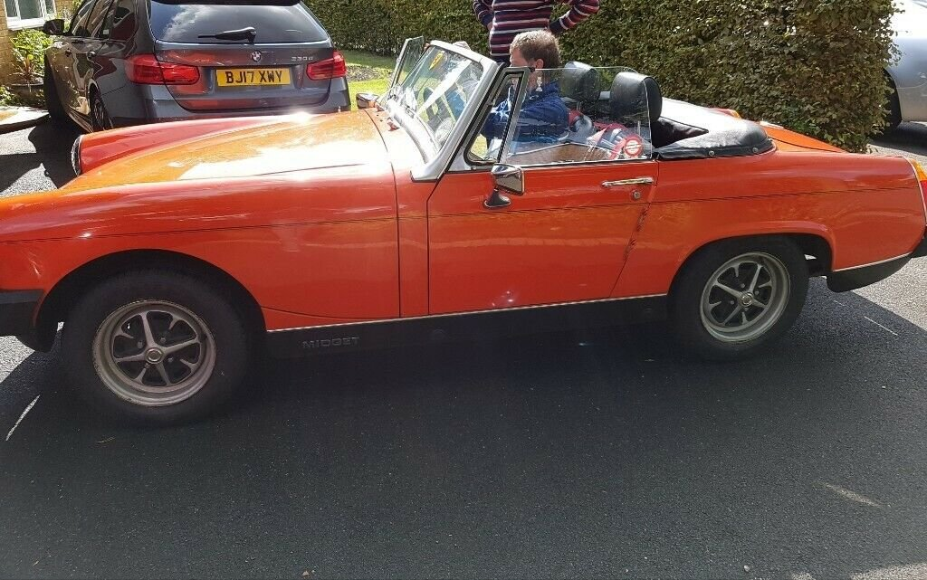 1979 MG Midget Classic, Low Mileage, FSH, 12 months MOT SOLD (picture 5 of 5)
