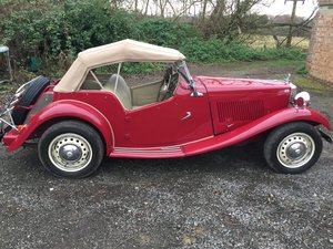1951 MGTD Excellent Condition  For Sale