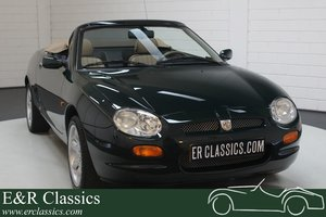 MG MGF 1.8 Roadster 1998 Unique history 3,192 km