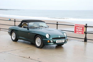 MG RV8 1993. One of only 330 original UK supplied cars