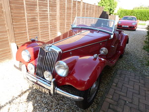 1954 MG TF1250 LHD matching numbers For Sale
