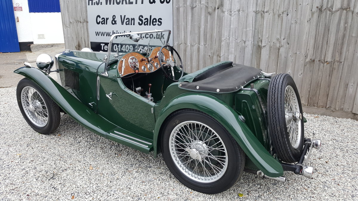 1935 MG PB SOLD (picture 3 of 6)