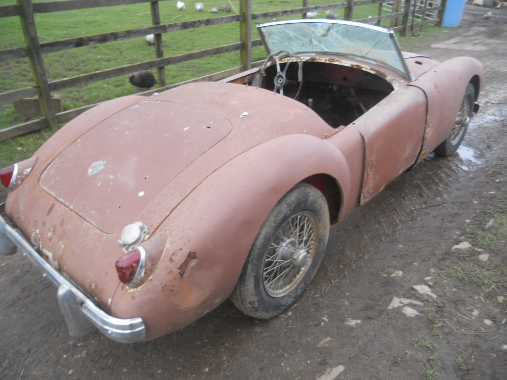 1958 MGA Roadster 1500cc car For Restoration US Import LHD  SOLD (picture 3 of 6)