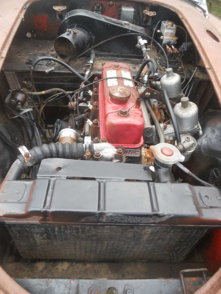 1958 MGA Roadster 1500cc car For Restoration US Import LHD  SOLD (picture 4 of 6)