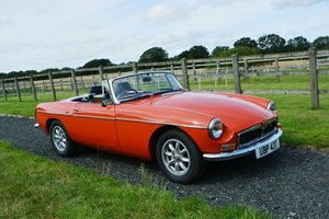1978 MGB Roadster For Sale by Auction
