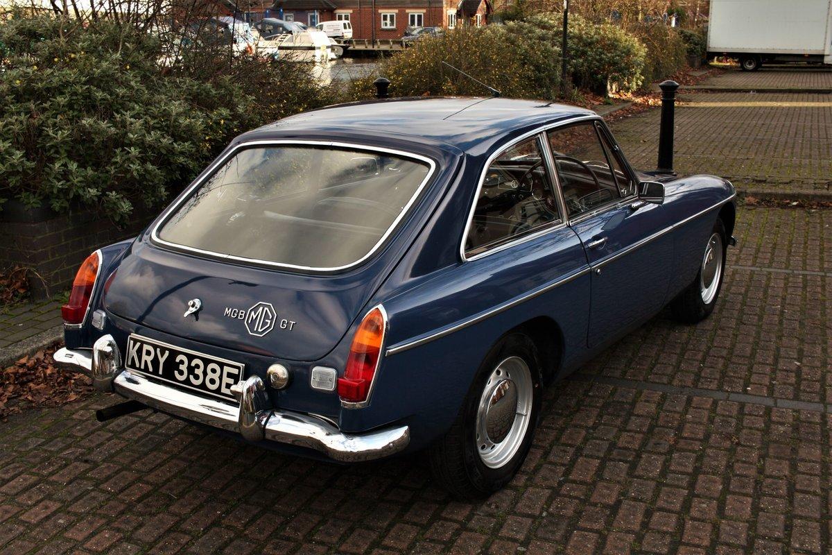 1967 Mk1 MGB GT - Mineral Blue, Disc Wheels - MGBGT MG BGT SOLD (picture 2 of 6)