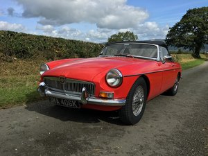 Picture of 1972 MGB Roadster SOLD