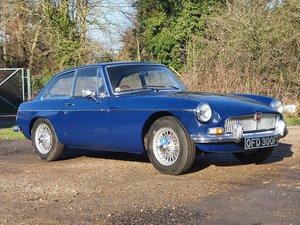 MG B GT Mk1, 1967, Trafalgar Blue For Sale