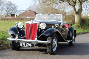 MG TD 1953 - To be auctioned 24-04-20 For Sale by Auction