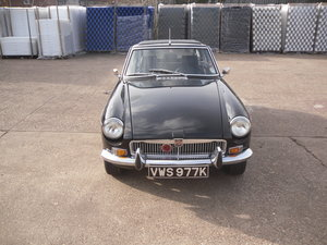 1971 Black MG BGT  For Sale
