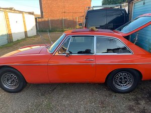 1975 MGB GT V8 Factory car. For Sale