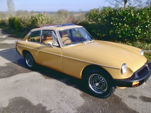 1976 MGB GT V8 only two owners from new For Sale