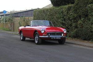 1966 MGB Roadter, superbly rebuilt in 2011, top class