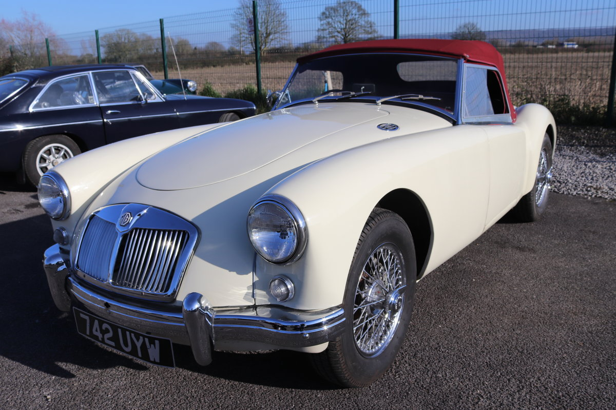 1957 MGA Roadster, full Restoration 2019, 5 speed For Sale (picture 1 of 6)