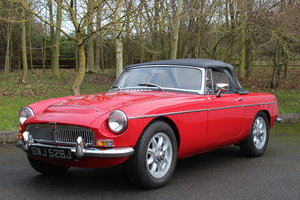 1970  MGC ROADSTER – OVERDRIVE - TRIPLE WEBER'S For Sale