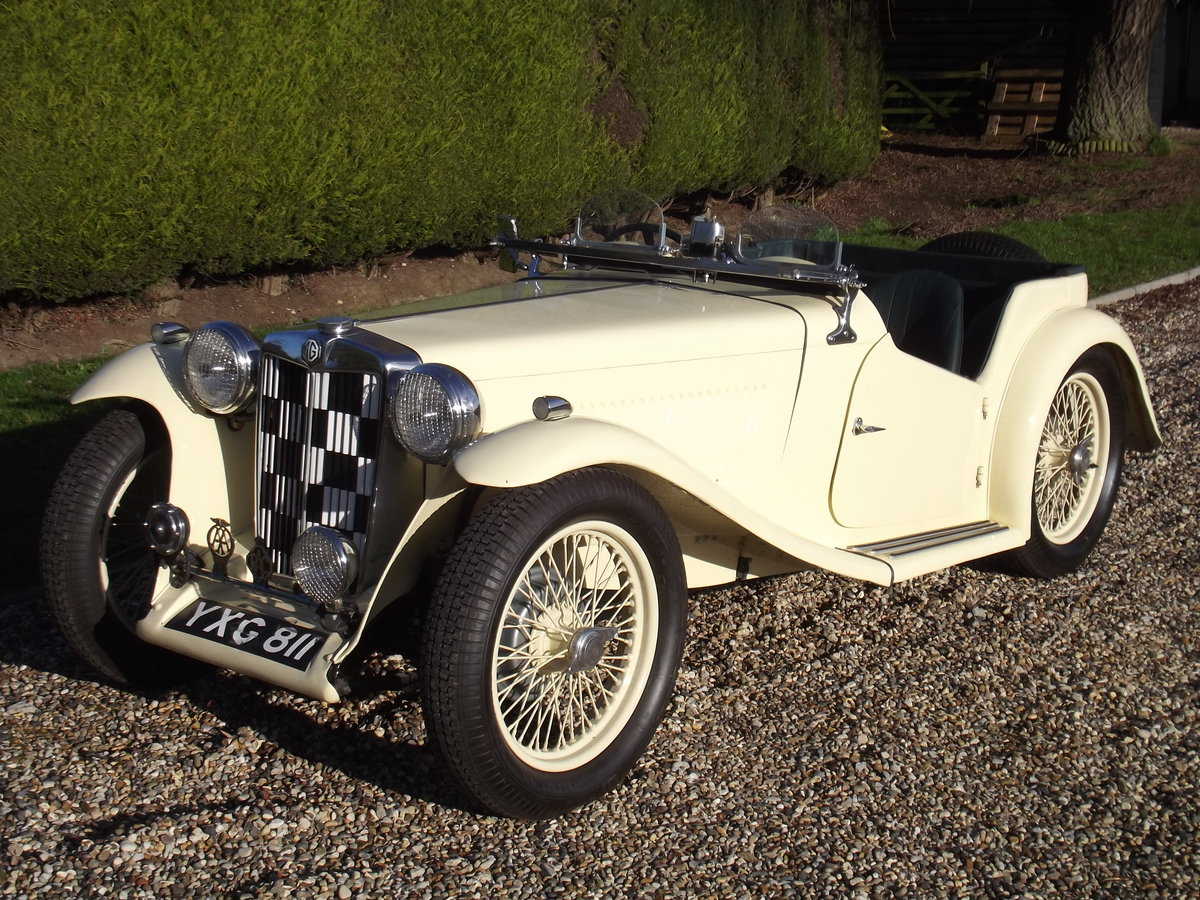 1938 MG TA - NOW SOLD. Similar cars Wanted (picture 1 of 1)