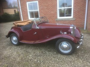 MG TD 5 spd, Ifor trailer also available