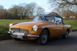 MG B Roadster 1970 - To be auctioned 24-04-20