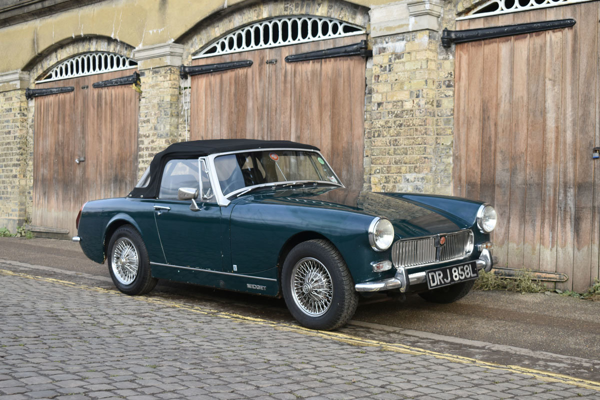 1973 MG Midget Mark III 22 Feb 2020 For Sale by Auction (picture 1 of 3)