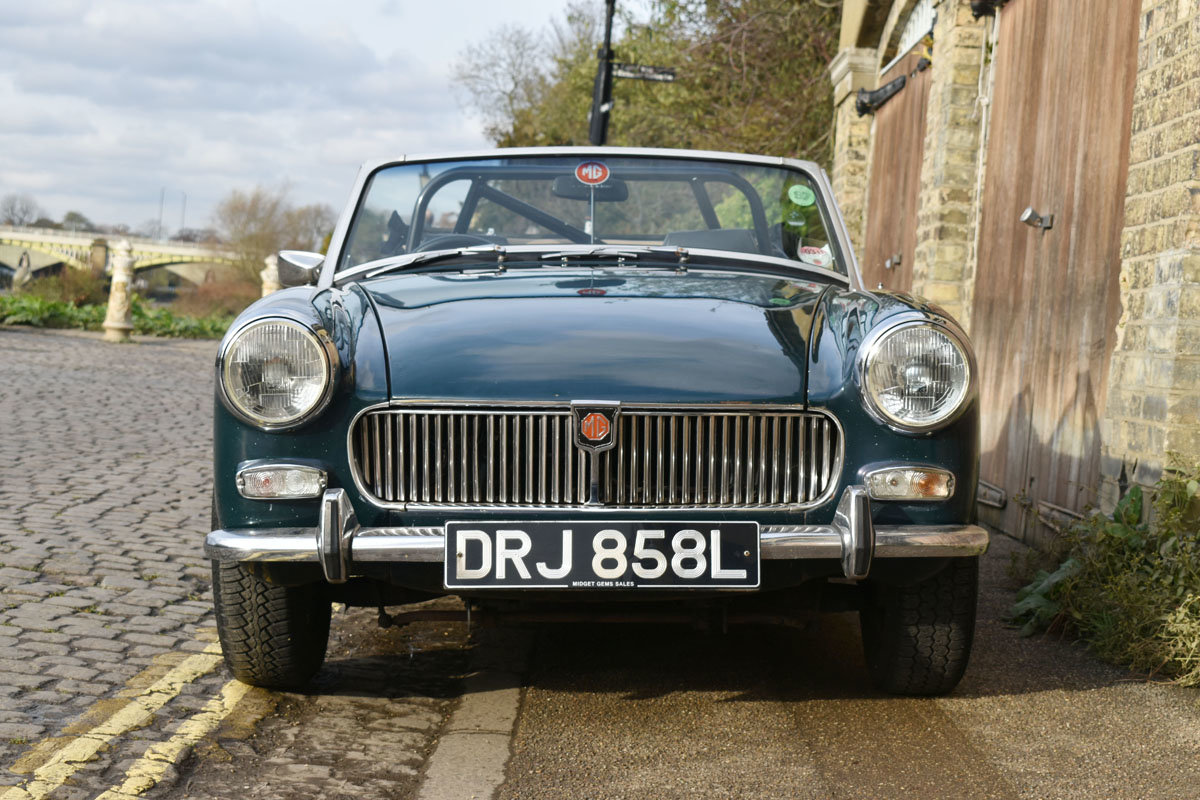 1973 MG Midget Mark III 22 Feb 2020 For Sale by Auction (picture 2 of 3)
