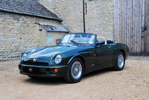 A beautiful condition MG RV8 with just 6,000 miles