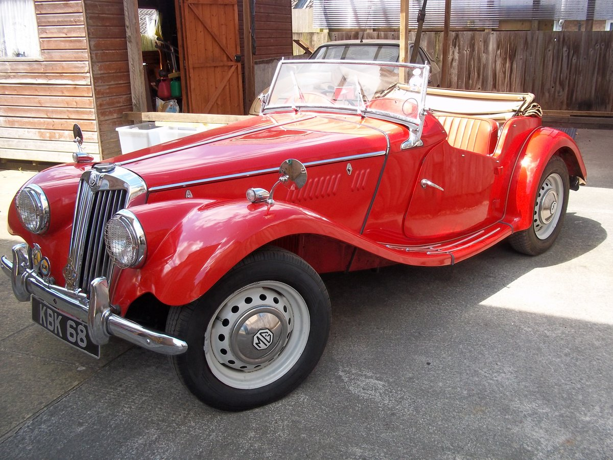 1954 MG TF Fully Restored For Sale (picture 2 of 6)