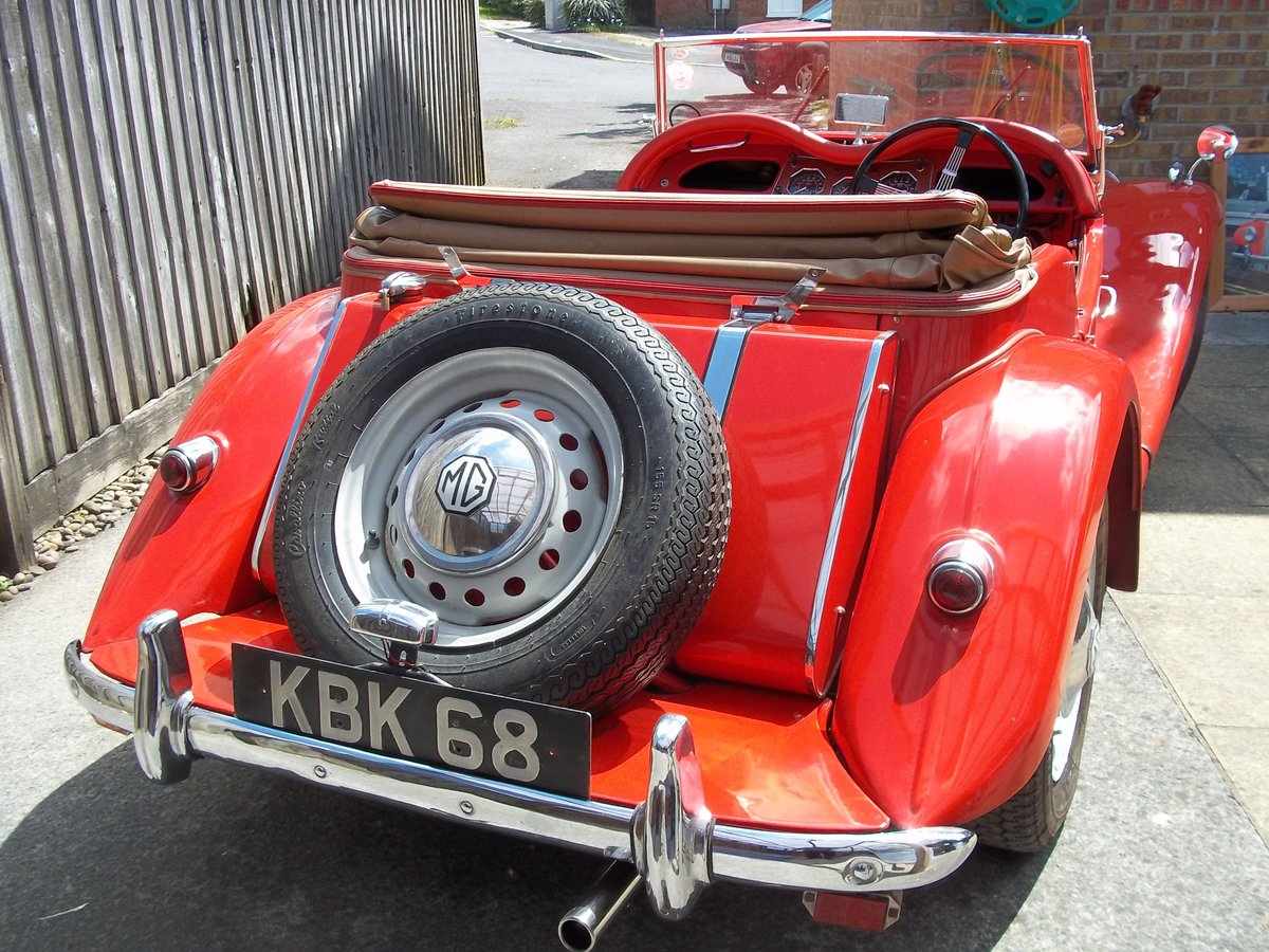 1954 MG TF Fully Restored For Sale (picture 3 of 6)
