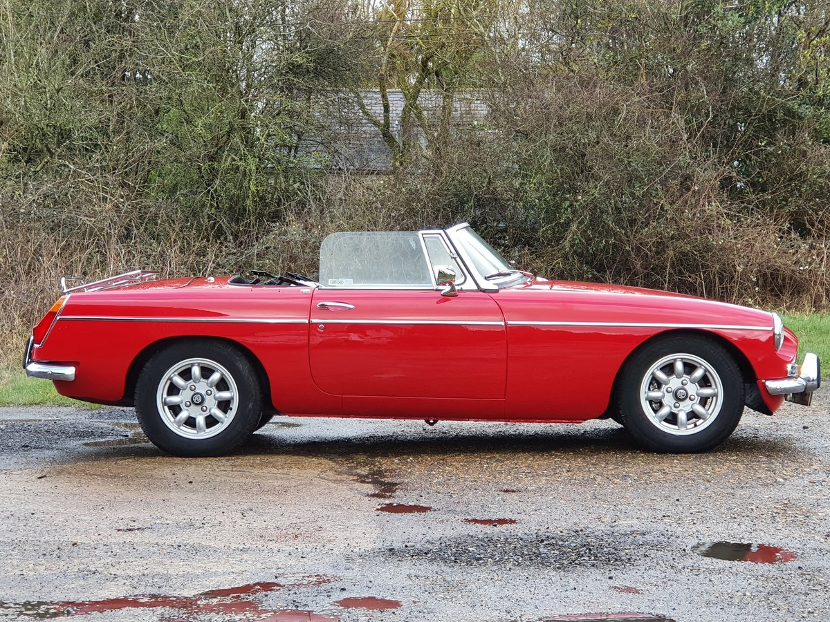 MG B Roadster, 1971, Tartan Red For Sale (picture 1 of 5)