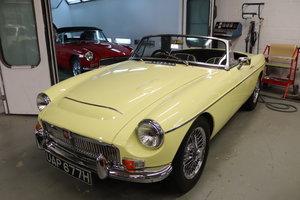 1969 MGC Roadster, Fully restored, Primrose.