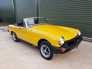 1980 MG MIDGET 1500 Low Mileage / 2 Owners